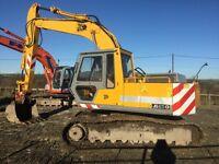 JCB js150 digger excavator tractor