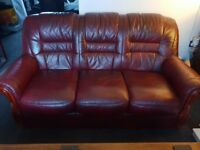 Italian Leather 4 piece suite