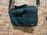 Laptop Bag & Leather Document Wallet