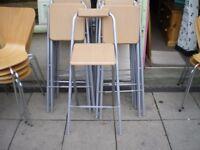 FOLD UP STOOLS £5.00