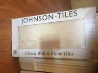 Johnson's Natural Beauty matt 'Sand' glazed ceramic wall/floor tiles,