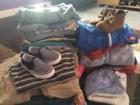 9-12 months clothes and shoes