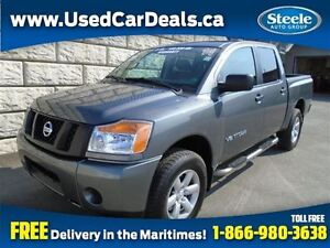 2014 Nissan Titan S 5.6L 4X4 Crew Cab Alloys Fully Equipped