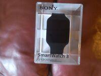 SONY SMARTWATCH 3 BRAND NEW