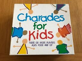 Paul Lamond Kids Charades Card Game, complete