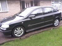 VAUXHALL ASTRA 1-6 SXI 16v 5-DOOR 2002. 110k MILES, SERVICE HISTORY 2 LADY OWNERS FROM NEW ANY TRIAL