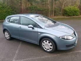 2007 SEAT LEON 1.9 TDI REFERENCE 5 DOOR HATCHBACK BLUE 1 OWNER FROM NEW