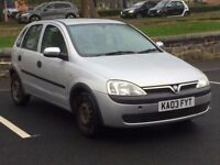 2003 VAUXHALL CORSA 1.2 CLUB * 5 DOOR * LONG MOT * LOW MILEAGE * PART EX WELCOME * DELIVERY *
