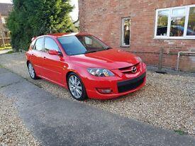 Mazda 3 MPS 2.3 Turbo rare aero edition 2007 320i 320d 120d 120i msport