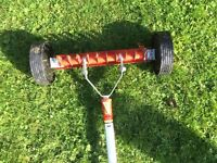 Wolf Garden scarifier with detachable handle