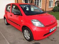 2007 DAIHATSU SIRION 1.0s 5 DOOR HATCHBACK £30 A YEAR TAX NOW WITH 12 MONTHS MOT