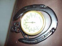 Horseshoe thermometer