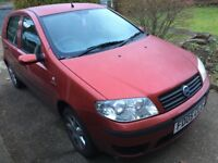 FIAT PUNTO 1.2 PETROL FOR SALE- AS IS-