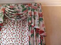 Designer Showhouse Curtains & Pelmet