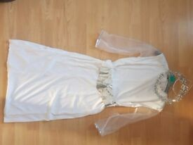 Angel costume age 5/7 BRAND NEW