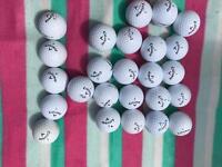 Golf balls in good condition