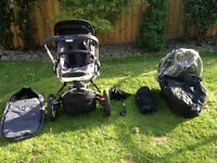 Quinny Buzz pushchair + carrycot + extras