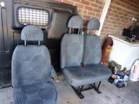 Seats for Transit mk 7
