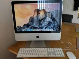 Apple imac 20 inch 2009