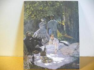 """Art Print Claude Monet """"The Picnic, A Fragment"""" Painted 1866 Stratford Kitchener Area image 8"""