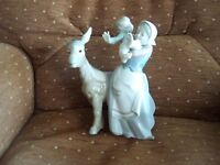 Lladro figurine.`Donkey Ride. No. 4843. 1971-1983. Very Rare