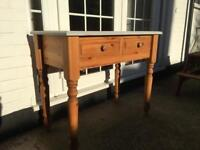Solid Pine Dressing Table or Sideboard