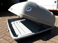 Generously large c. 300L second-hand Roof Box 'Paddy Hopkirk Continental'