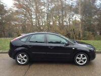FORD FOCUS ZETEC 2007 FULL SERVICE HISTORY & MOT-ALLOYS/AIR CON/CD-WE CAND DELIVER THIS CAR TO YOU