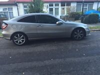 Automatic Merc coupe 2.1 diesel 2005