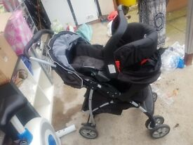 Push chair/pram/child seat perfect for new born til 5 years olds