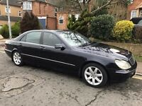 Mercedes S class LIMO 320 CDI Long wheel base diesel Playstation...