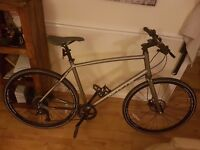 Whyte - Whitechapel mens hybrid bike