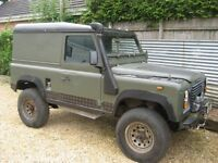 Land Rover Defender 4C 1989 G reg project