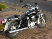 HONDA SHADOW VT 125 C-6 - LEARNER LEGAL CRUISER IN FANTASTIC ALL ROUND CONDITION - 2968 miles