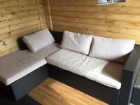 Ration corner sofa