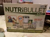 Nutribullet baby blender/ weaning bundle