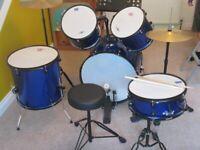 5 piece junior drum kit