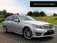 Mercedes-Benz C Class C200 CDI BLUEEFFICIENCY AMG SPORT (silver) 2013-03-28