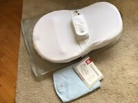 Red Castle Cocoonababy + Extra fitted sheet (blue)