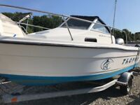 Bayliner Trophy 1802wa boat fast fisher speedboat with Honda 90hp v tec and trailer.