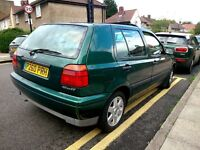 1996 Vw Golf 1.9 Diesel Manual Starts And Drives With MOT