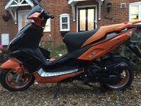 50cc DIRECT BIKES DB50QT-32 EXCELLENT BIKE, QUICK SALE, WILL CONSIDER OFFERS