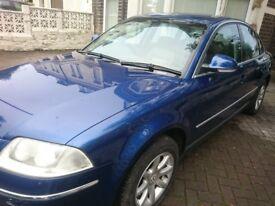 VW Passat 2004 1.9tdi highline 135k good drive no faults leather seats