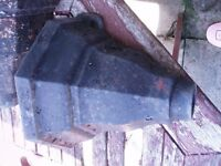 cast iron drain pipe hoppers