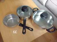 COOKING POT - CAN BE USED ON INDUCTION AS WELL