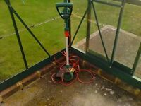 QUALCAST ELECTRIC GARDEN STRIMMER INCLUDING WIRE VGC