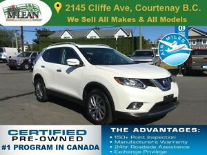 2015 Nissan Rogue SL AWD Leather Seats Navigation Sunroof
