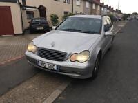 Mercedes c270 CDI 2002 long mot mind condition