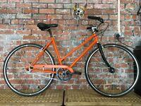 Ladies 50cm step-over single speed steel frame bicycle [REFURBISHED] £225