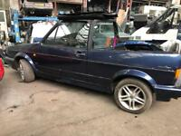 Golf Cabriolet Mk1 1.8 carb breaking for Parts based in Birmingham